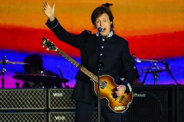 Watch Paul McCartney Play The Queen's Diamond Jubilee