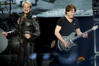 Van Halen, Kool & The Gang @ Staples Center, Los Angeles 6/9/12
