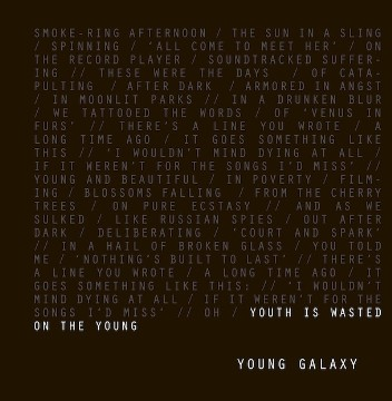 Young Galaxy -