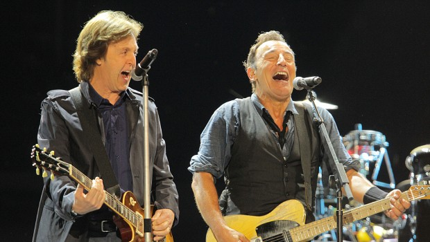 Paul McCartney & Bruce Springsteen @ Hard Rock Calling 2012
