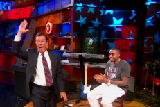 Nas on Colbert