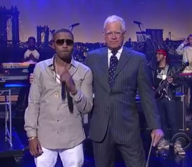 Nas on Letterman