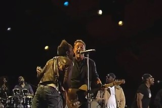 "Watch Springsteen & The Roots Do ""E Street Shuffle"" At Roskilde"