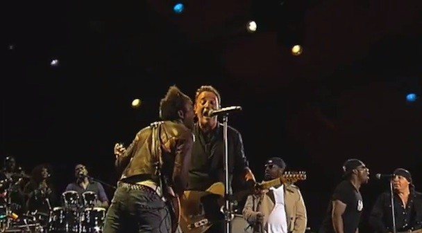 Watch Springsteen & The Roots Do