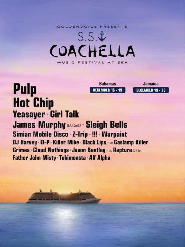 S.S. Coachella Lineup 2012