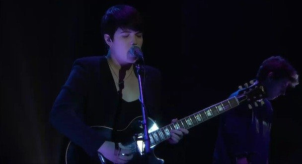 Watch The xx Play 'Conan'