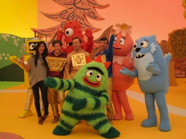 Cut Copy on Yo Gabba Gabba