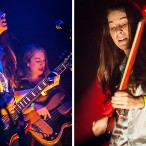 HAIM @ Santos Party House, NYC 8/2/12