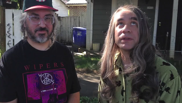 J Mascis and Fred Armisen