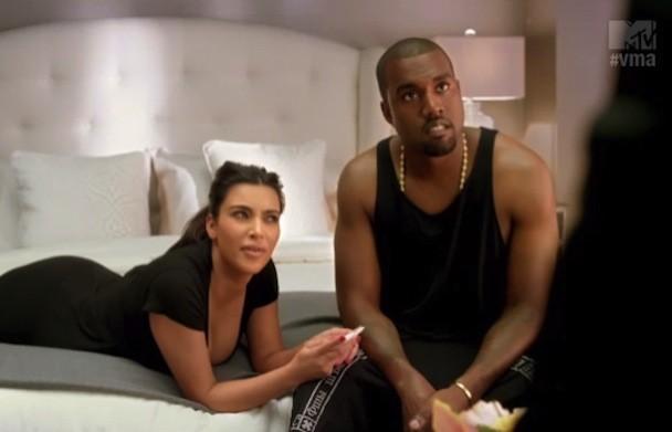 Kim & Kanye For The VMAs