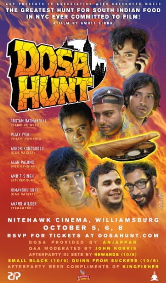 DOSA HUNT Opening Run @ Nitehawk Cinema, Williamsburg