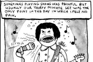 Check Out Screaming Females' Marissa Paternoster's Comic Strip