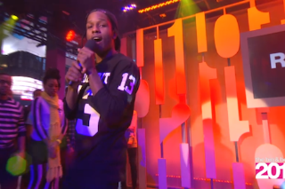 "Watch A$AP Rocky Debut ""Long.Live.A$AP"" On MTV"