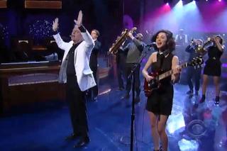 Watch David Byrne &#038; St. Vincent Play <em>Letterman</em>
