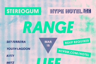 Stereogum Range Life 2013 Lineup
