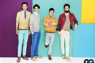 Vampire Weekend Move Beyond Sweaters, Model For <em>GQ</em>