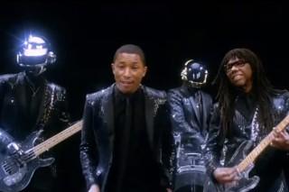 """Watch Daft Punk's """"Get Lucky"""" Coachella Video"""