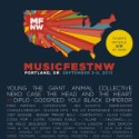MusicFestNW 2013 Lineup