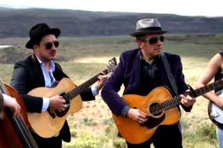 """Watch Elvis Costello And Mumford & Sons Cover Springsteen's """"The Ghost Of Tom Joad"""""""