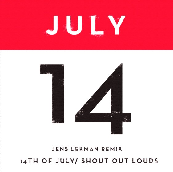 "Shout Out Louds - ""14th Of July"""