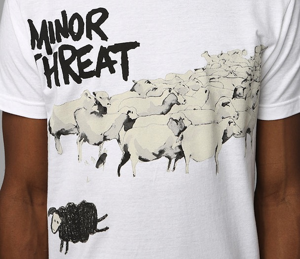 Urban Outfitters Minor Threat T-shirt