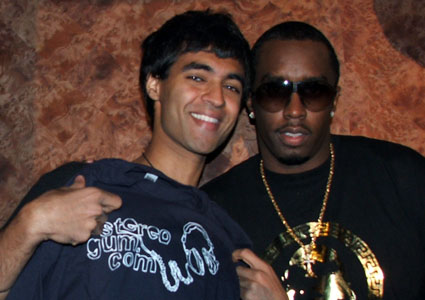 Amrit & Diddy (circa 2006)