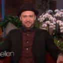 Watch Justin Timberlake On <em>Ellen</em>