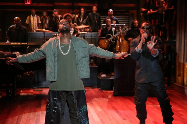 Kanye West On Jimmy Fallon
