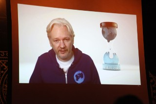 Watch WikiLeaks' Julian Assange Open For M.I.A. In NYC