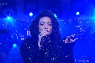 Watch Lorde&#8217;s <em>Live On Letterman</em> Webcast