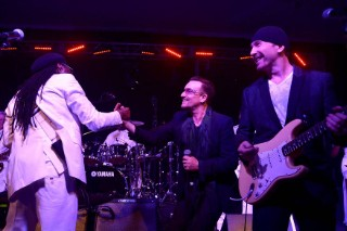 "Watch Bono & The Edge Cover ""Get Lucky"""