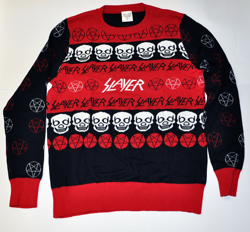 share black metal christmas sweater - Black Metal Christmas Sweater
