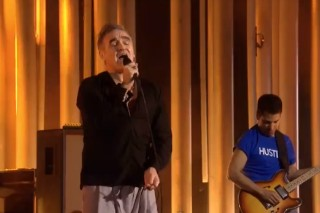 Watch Morrissey Play The 2013 Nobel Peace Prize Concert