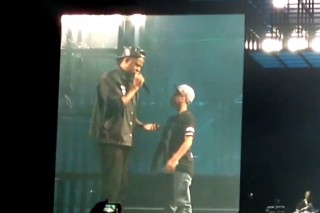 Watch Jay Z Bring A 12-Year-Old Fan Onstage To Rap For Him