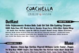Coachella 2014 Lineup