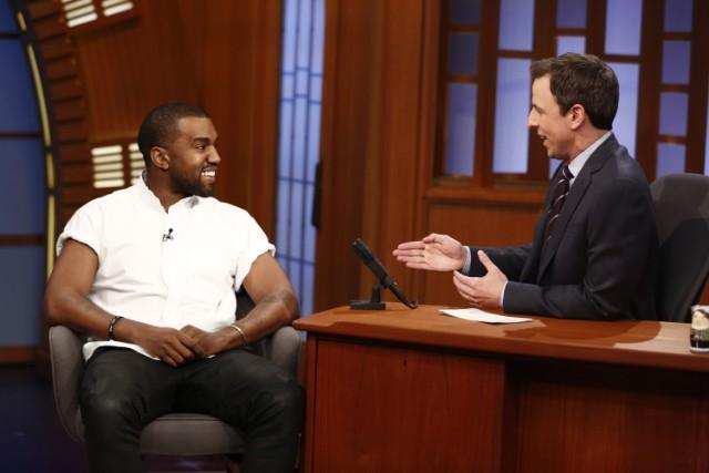 Kanye West Visits
