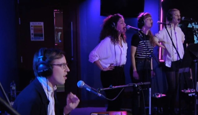 Bombay Bicycle Club on BBC Live Lounge
