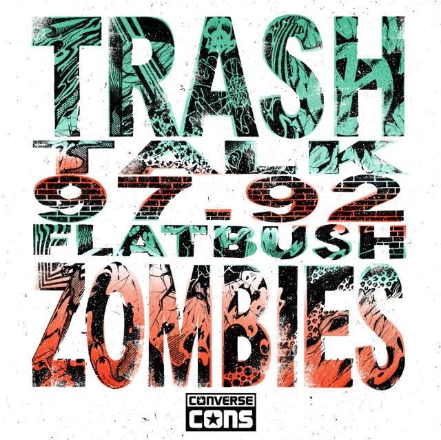 CONS EP Vol. 1 - Trash Talk x Flatbush Zombies_Cover Art