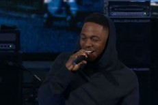 Kendrick Lamar at NBA All-Star Weekend