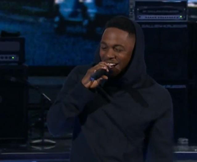 Kendrick Lamar at NBA All-Star Weekend