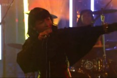 Little Dragon on Letterman