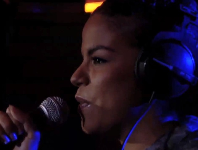 Ms. Dynamite in BBC Live Lounge