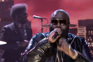 Watch Rick Ross Play <em>The Tonight Show</em> With The Roots