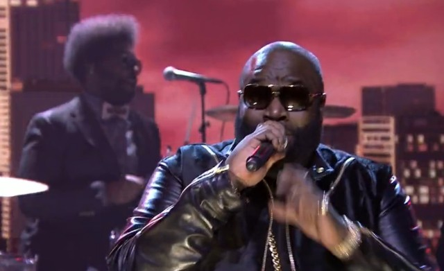 Rick Ross on The Tonight Show