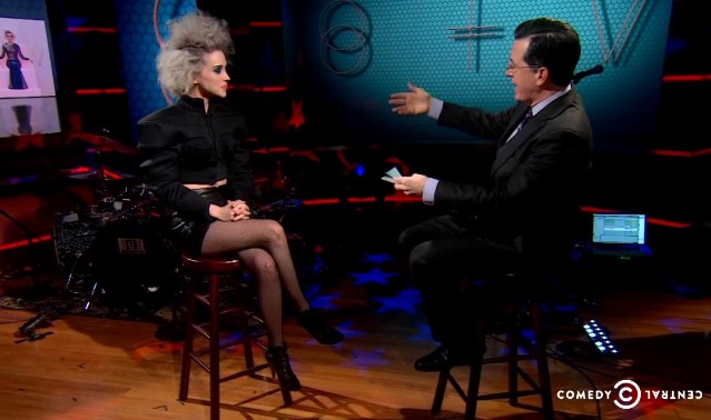 St. Vincent on Colbert
