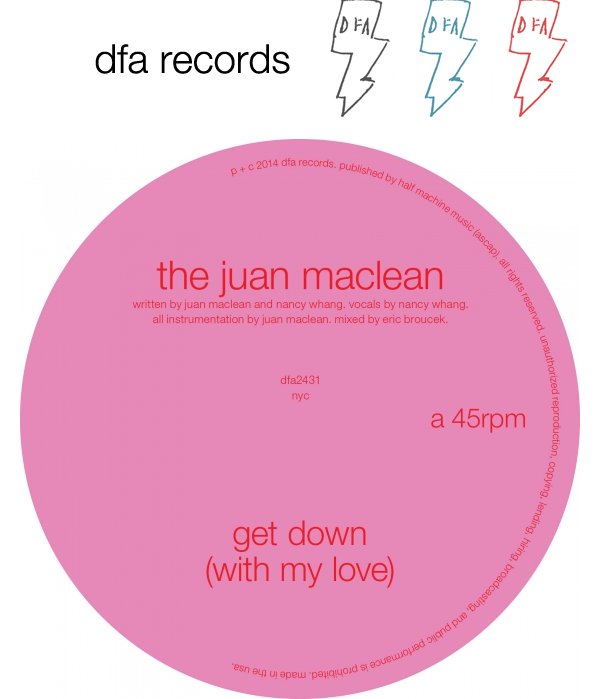 "The Juan Maclean - ""Get Down (With My Love)"""
