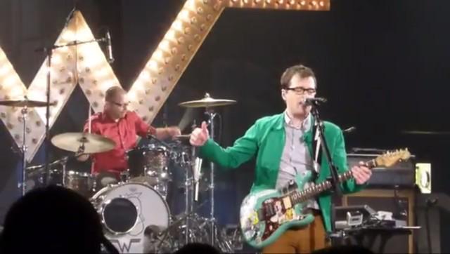 Weezer cruise live