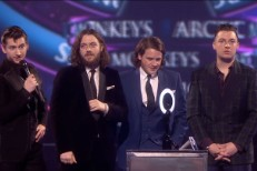 Arctic Monkeys @ 2014 BRIT Awards