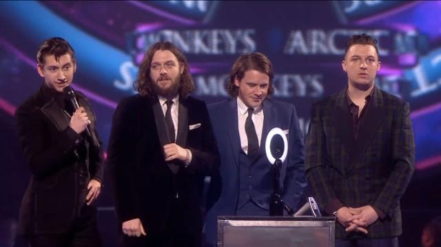 Arctic Monkeys @ 2014 BRIT Awards