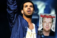 Drake &#8220;Disgusted&#8221; With <em>Rolling Stone</em> For Giving His Cover To Philip Seymour Hoffman, Calls Kanye&#8217;s Lyrics &#8220;Questionable&#8221;